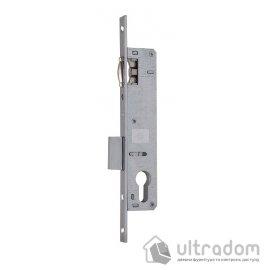 Корпус замка с роликом SIBA 10055P-20 для металлопластиковой двери. image