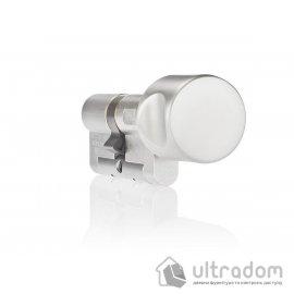 Цилиндр дверной DOM Diamond ключ-вороток 104 мм image