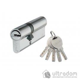 Цилиндр дверной SIBA перфорированный ключ-ключ 120 мм image