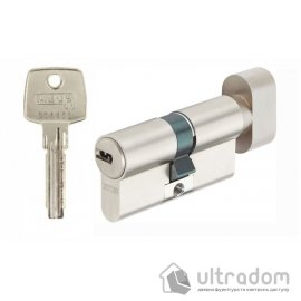 Цилиндр Abus KD6  ключ-тумблер 65 мм.,  никель image