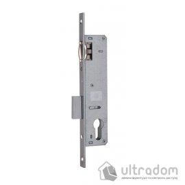 Корпус замка с роликом SIBA 10055P-25 для металлопластиковой двери. image
