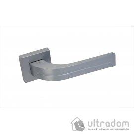 Ручка дверная на бесшовной розетке SIBA KOMETA, матовый хром image