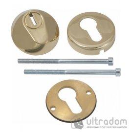 Броненакладка для цилиндра AGB TENAX, полированное золото image