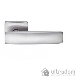 Дверная ручка COLOMBO BOLD PT 11  матовый хром image