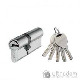 Цилиндр дверной SIBA перфорированный ключ-ключ 80 мм image