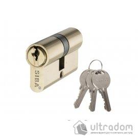 Цилиндр дверной SIBA английский ключ-ключ 62 мм image