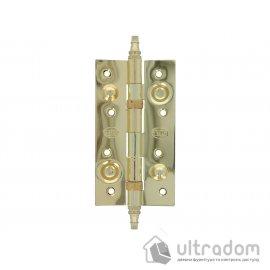 Дверные петли усиленные Amig 567 - 150 мм., цвет - латунь image