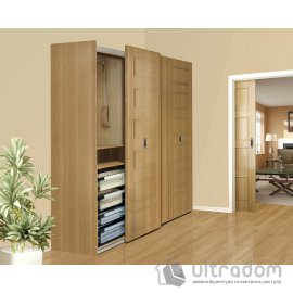 Valcomp IKAR одноплоскостная система для шкафа - купе, 3 двери image