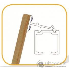 Крепеж для деревянной маскировочной планки Valcomp image