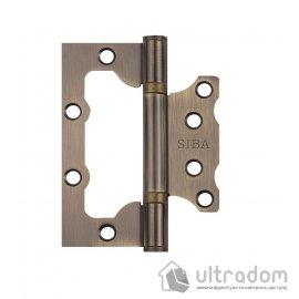 Петли дверные накладные SIBA 100 мм, цвет - античная бронза image