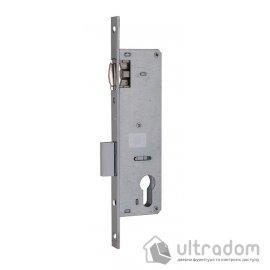 Корпус замка с роликом SIBA 10055P-35 для металлопластиковой двери. image