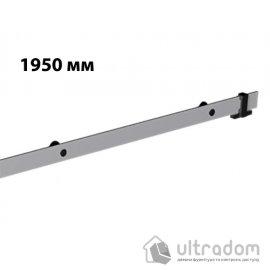 Направляющая рельса 1950 мм Mantion ROC Design в стиле LOFT, матовая серая image