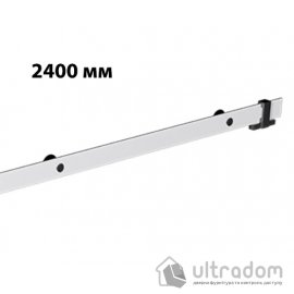 Направляющая рельса 2400 мм Mantion ROC Design в стиле LOFT, матовая белая (217-608) image