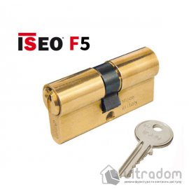 Цилиндр дверной ISEO F5 ключ-ключ, 65 мм image