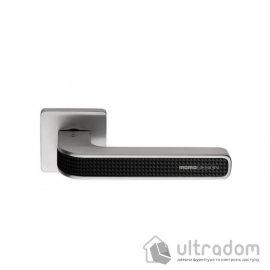 Дверная ручка COLOMBO Tecno MO 11  хром / карбониум image