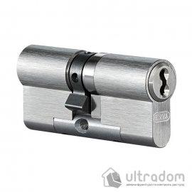 Цилиндр дверной EVVA 4KS ключ-ключ, 107 мм image