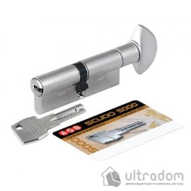 Цилиндр дверной AGB SCUDO 5000 PS ключ-вороток 85 мм image