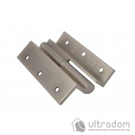Угловые латунные дверные петли, Sofuoglu 100 мм., цвет - перламутровый никель image