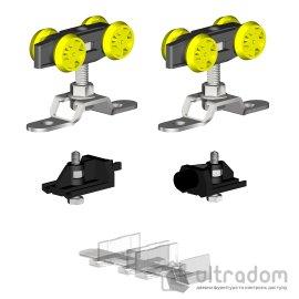 Комплект роликов Valcomp Herkules HS60 для раздвижной двери image