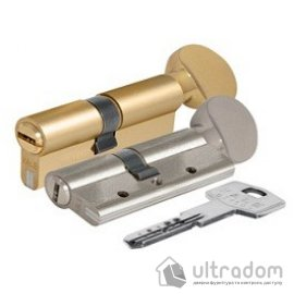 Цилиндр дверной KALE 164 DBNE ключ-вороток 90 мм  image