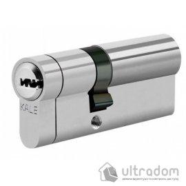 Цилиндр дверной KALE 164 KTB ключ-ключ 100 мм никель image