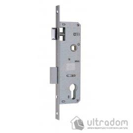 Корпус замка с защелкой SIBA 10053P-35 для металлопластиковой двери. image