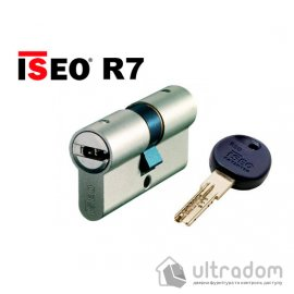 Цилиндр дверной ISEO R7 ключ - ключ, 80 мм image