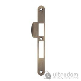 Ответка для замка SIBA 10585 под ключ, стандартная, цвет - ант.бронза. image