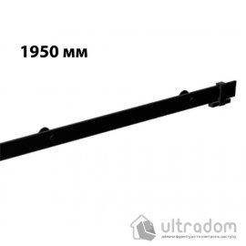 Направляющая рельса 1950 мм Mantion ROC Design в стиле LOFT, матовая чёрная image