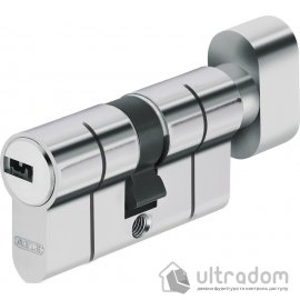 Цилиндр Abus KD6PS  ключ-вороток 100  мм никель  матовый image