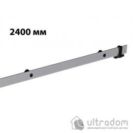 Направляющая рельса 2400 мм Mantion ROC Design в стиле LOFT, матовая серая image