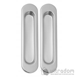Дверная ручка-ракушка SIBA,  хром полированный,  2шт (S222 CP) image