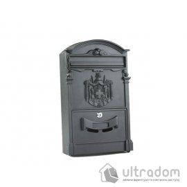 Декоративный почтовый ящик Amig m.4, цвет - чёрный image
