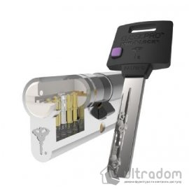 Цилиндр дверной Mul-T-Lock Classic Pro ключ-ключ., 80 мм image