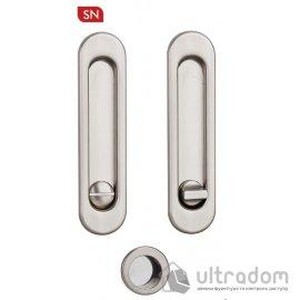 Ручки - ракушки для раздвижных дверей с механизмом WC SIBA S223, цвет - матовый никель image