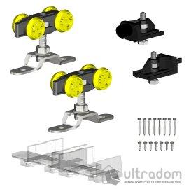 Комплект роликов Valcomp Herkules HS60 для подвесной раздвижной системы до 60 кг (219-310) image