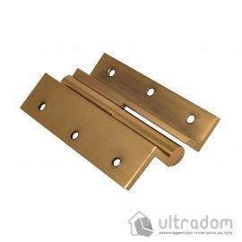 Угловые латунные дверные петли, Sofuoglu 100 мм., цвет - золото image