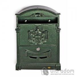 Декоративный почтовый ящик Amig m.4, цвет - зелёный image