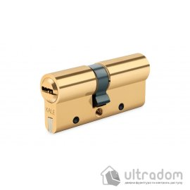 Цилиндр дверной KALE 164 DBNE ключ-ключ 81 мм никель image