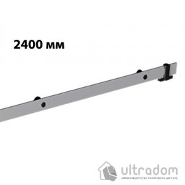 Направляющая рельса 2400 мм Mantion ROC Design в стиле LOFT, матовая серая (217-611) image