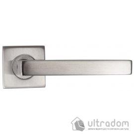 Дверная ручка из нержавеющейй стали SIBA Parma на квадратном основании image