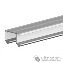 Направляющая рельса Valcomp Horus для подвесной раздвижной системы шкафа - купе 1,5 м (214-139) image
