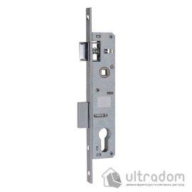 Корпус замка с защелкой SIBA 10053P-25 для металлопластиковой двери. image