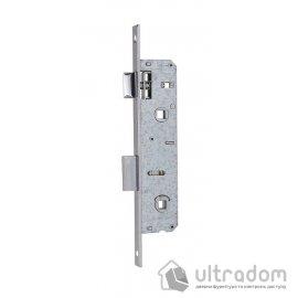 Корпус замка сантехнического с защелкой SIBA 10069PWC-25 для металлопластиковой двери. image