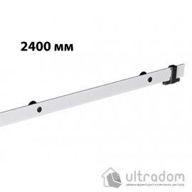 Направляющая рельса 2400 мм Mantion ROC Design в стиле LOFT, матовая белая image