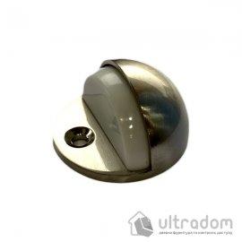 Упор дверной  полусфера D2705 матовый никель image
