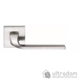 Дверная ручка COLOMBO ISY BL 11 матовый хром (роз. 6 мм) image