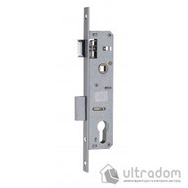 Корпус замка с защелкой SIBA 10053P-30 для металлопластиковой двери. image