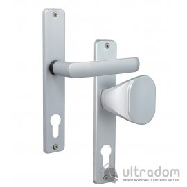 Дверная ручка ROSTEX 804   fix-mov PZ ручка-кноб хром сатин image