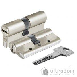 Цилиндр дверной KALE 164 DBNE ключ-ключ 100 мм никель image